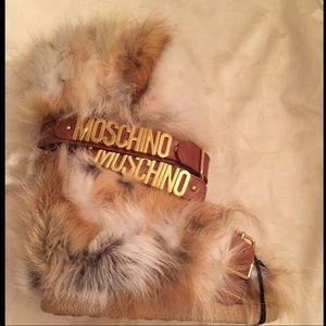 Moschino x Jeremy Scott Fox Fur Snow Boots